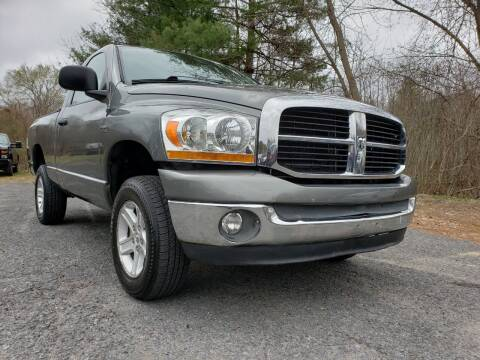 2006 Dodge Ram Pickup 1500 for sale at Jacob's Auto Sales Inc in West Bridgewater MA