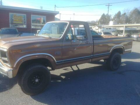 1986 Ford F-250 for sale at Lewis Used Cars in Elizabethton TN