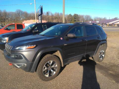 2015 Jeep Cherokee for sale at Pepp Motors in Marquette MI