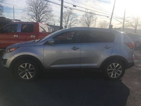 2015 Kia Sportage for sale at K B Motors in Clearfield PA