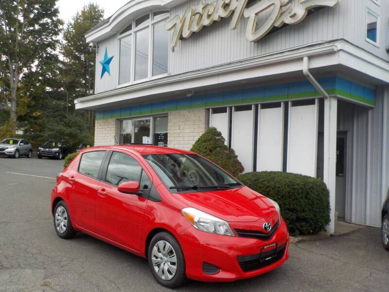 2012 Toyota Yaris for sale at Nicky D's in Easthampton MA