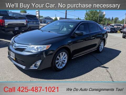 2012 Toyota Camry Hybrid for sale at Platinum Autos in Woodinville WA