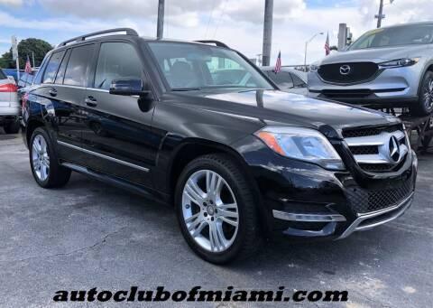 2013 Mercedes-Benz GLK for sale at AUTO CLUB OF MIAMI, INC in Miami FL
