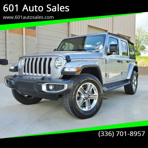 2018 Jeep Wrangler Unlimited for sale at 601 Auto Sales in Mocksville NC
