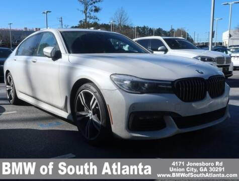 2018 BMW 7 Series for sale at Carol Benner @ BMW of South Atlanta in Union City GA