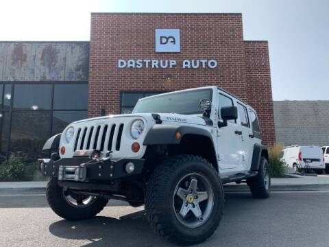 2008 Jeep Wrangler Unlimited for sale at Dastrup Auto in Lindon UT