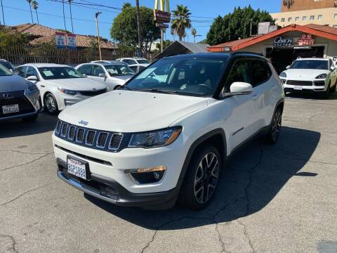 2018 Jeep Compass for sale at Orion Motors in Los Angeles CA
