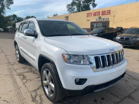 2013 Jeep Grand Cherokee for sale at City Auto Sales in Roseville MI