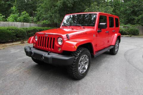 2015 Jeep Wrangler Unlimited for sale at AUTO FOCUS in Greensboro NC