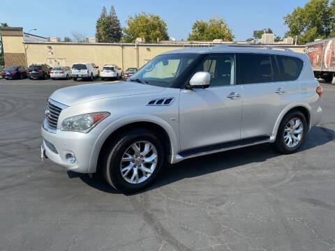 2014 Infiniti QX80 for sale at TOP QUALITY AUTO in Rancho Cordova CA