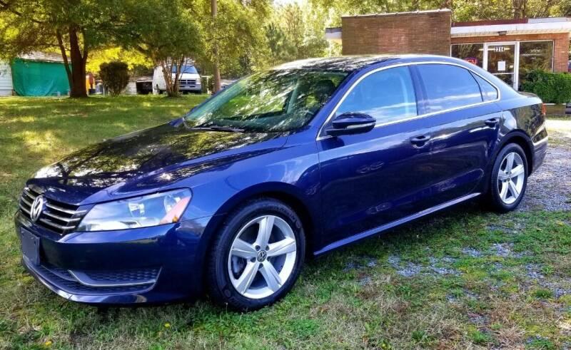 2012 Volkswagen Passat for sale at Progress Auto Sales in Durham NC