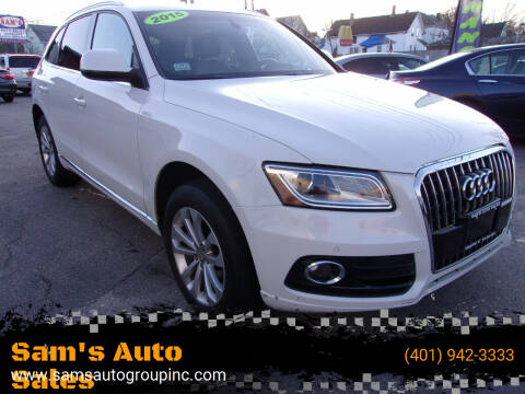 2015 Audi Q5 for sale at Sam's Auto Sales in Cranston RI