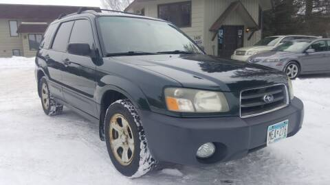 2004 Subaru Forester for sale at Shores Auto in Lakeland Shores MN