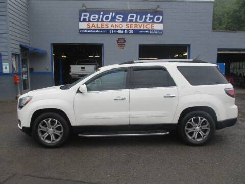 2013 GMC Acadia for sale at Reid's Auto Sales & Service in Emporium PA