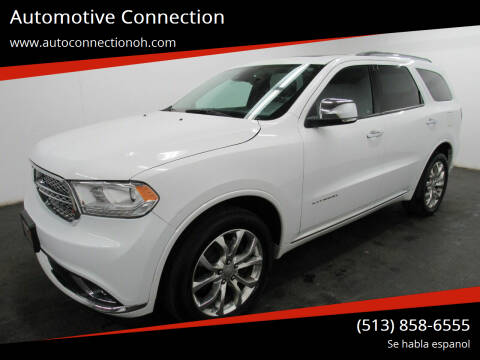 2017 Dodge Durango for sale at Automotive Connection in Fairfield OH