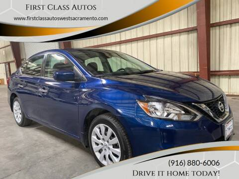 2016 Nissan Sentra for sale at Car Source Center in West Sacramento CA