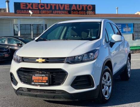 2017 Chevrolet Trax for sale at Executive Auto in Winchester VA