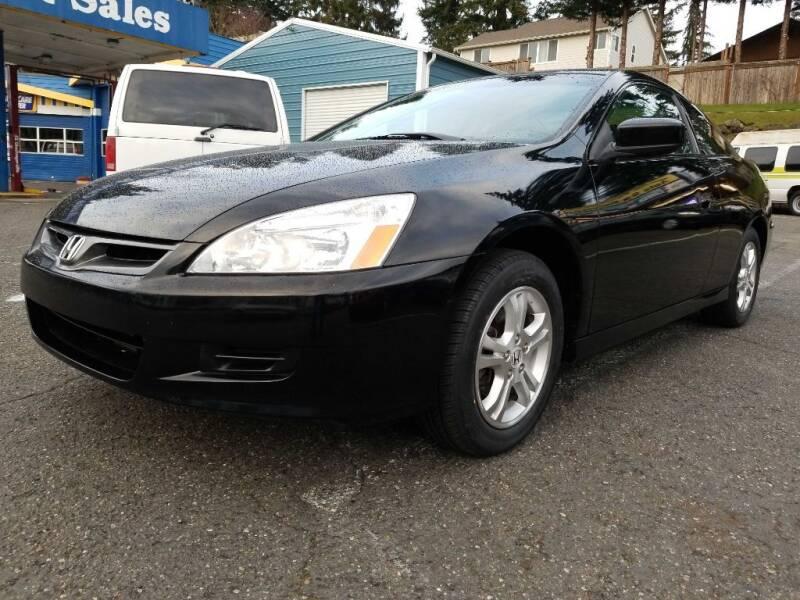 2007 Honda Accord for sale at Shoreline Family Auto Care And Sales in Shoreline WA