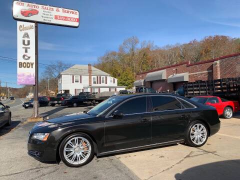 2011 Audi A8 L for sale at 401 Auto Sales & Service in Smithfield RI