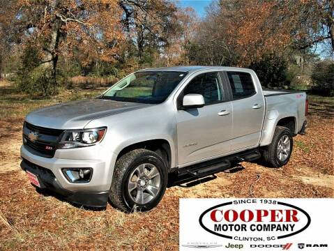 2016 Chevrolet Colorado for sale at Cooper Motor Company in Clinton SC