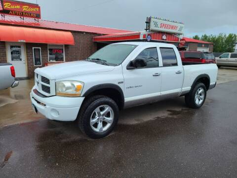 2006 Dodge Ram Pickup 1500 for sale at Rum River Auto Sales in Cambridge MN