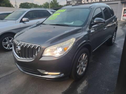 2014 Buick Enclave for sale at DON BAILEY AUTO SALES in Phenix City AL