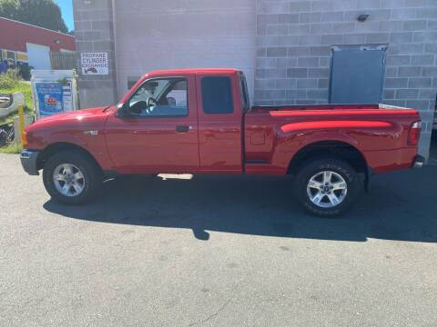 2004 Ford Ranger for sale at Pafumi Auto Sales in Indian Orchard MA