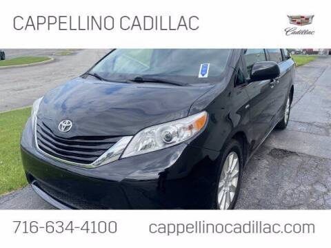 2016 Toyota Sienna for sale at Cappellino Cadillac in Williamsville NY