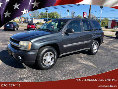 2004 Chevrolet TrailBlazer for sale at Ancil Reynolds Used Cars Inc. in Campbellsville KY