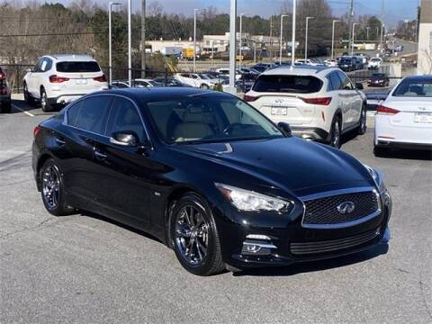 2017 Infiniti Q50 for sale at CU Carfinders in Norcross GA