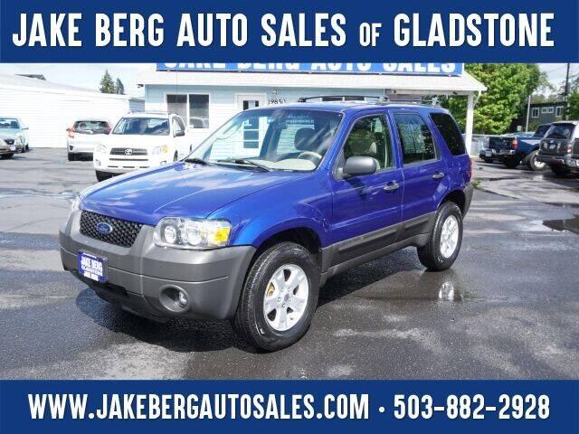 2006 Ford Escape for sale at Jake Berg Auto Sales in Gladstone OR