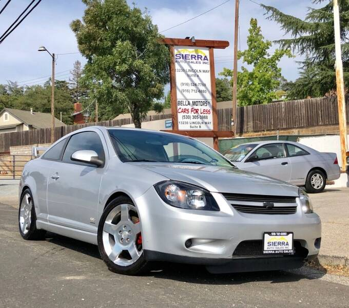 2007 Chevrolet Cobalt for sale at Sierra Auto Sales Inc in Auburn CA