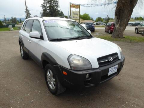 2007 Hyundai Tucson for sale at VALLEY MOTORS in Kalispell MT