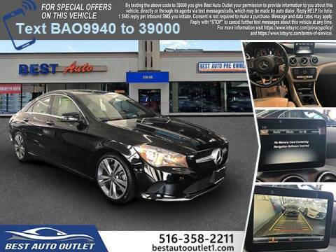 2018 Mercedes-Benz CLA for sale at Best Auto Outlet in Floral Park NY