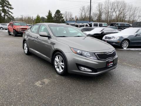 2013 Kia Optima for sale at LKL Motors in Puyallup WA