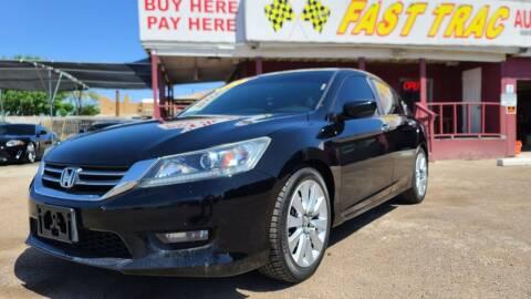 2014 Honda Accord for sale at Fast Trac Auto Sales in Phoenix AZ