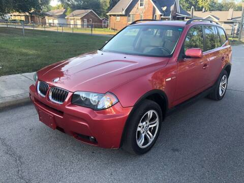 2006 BMW X3 for sale at JE Auto Sales LLC in Indianapolis IN