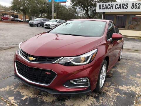 2017 Chevrolet Cruze for sale at Beach Cars in Fort Walton Beach FL