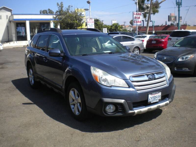 2013 Subaru Outback for sale at AUTO SELLERS INC in San Diego CA
