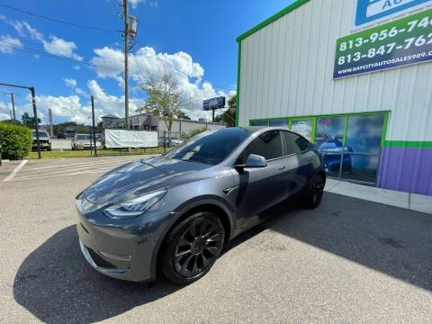 2021 Tesla Model Y for sale at Bay City Autosales in Tampa FL