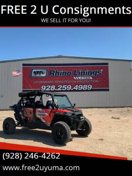 2017 Polaris RZR XP 4 Turbo for sale at FREE 2 U Consignments in Yuma AZ