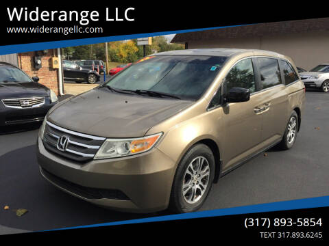 2012 Honda Odyssey for sale at Widerange LLC in Greenwood IN