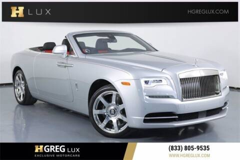 2017 Rolls-Royce Dawn for sale at HGREG LUX EXCLUSIVE MOTORCARS in Pompano Beach FL