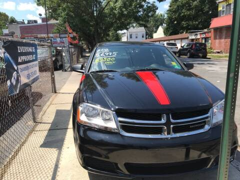 2012 Dodge Avenger for sale at Chambers Auto Sales LLC in Trenton NJ