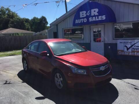 2014 Chevrolet Cruze for sale at B & R Auto Sales in Terre Haute IN