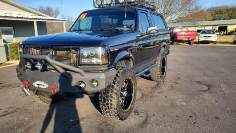 1996 Ford Bronco for sale at Jacks Auto Sales in Mountain Home AR