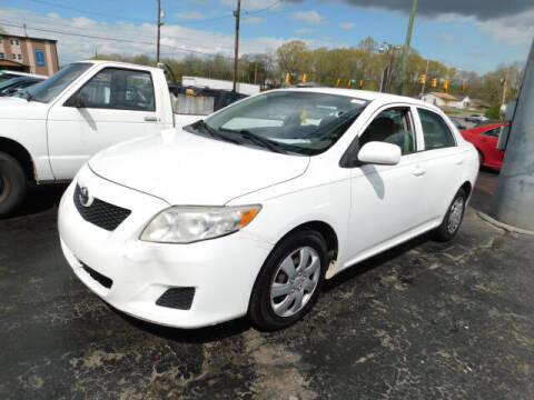 2010 Toyota Corolla for sale at WOOD MOTOR COMPANY in Madison TN