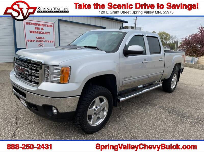 2012 GMC Sierra 2500HD for sale at Spring Valley Chevrolet Buick in Spring Valley MN