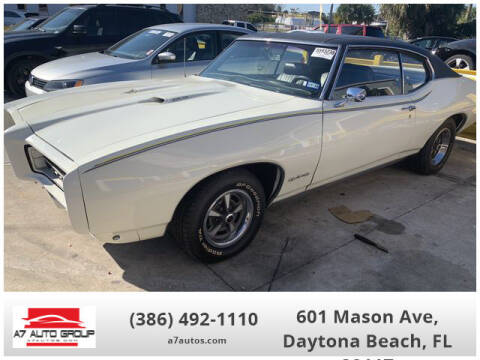 1969 Pontiac GTO for sale at A7 AUTO SALES in Daytona Beach FL