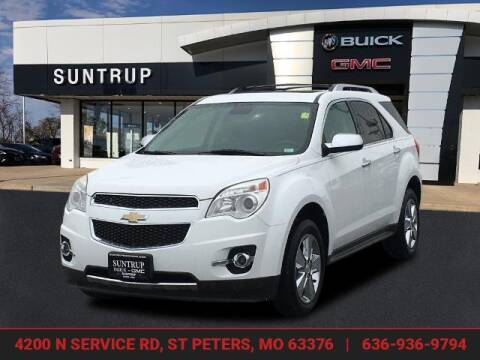 2012 Chevrolet Equinox for sale at SUNTRUP BUICK GMC in Saint Peters MO